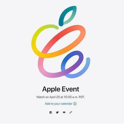 アップルが4月21日に発表会を開催へ。新製品は何が出る?