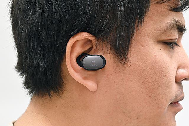 Anker「Soundcore Liberty 2 Pro」を装着したところ