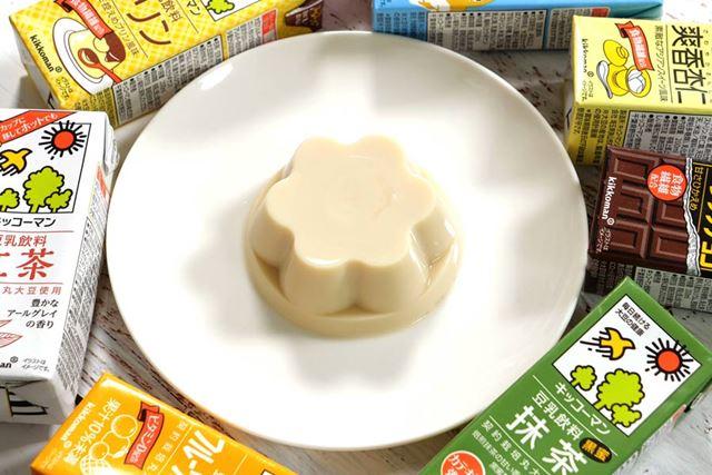 「キッコーマン豆乳」で作る「豆乳プリン」の作り方も紹介!