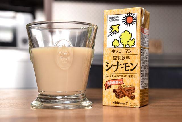 シナモンエキスやジンジャー粉末のほか、ルイボス茶エキスもブレンド。食物繊維は4.2gを配合