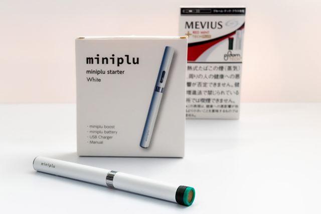 一見、紙巻きタバコに見間違えなくもない「ミニプルスターター」