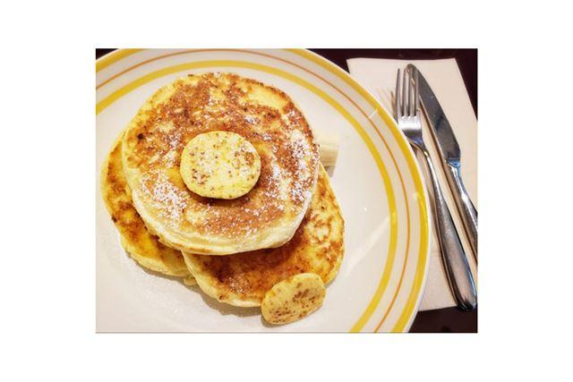 フワッとした食感を堪能できる「bills」の「リコッタパンケーキ」