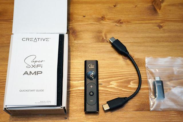 パッケージを見てもUSB Type C - USB Type CとOTG用ケーブル付属とスマホ志向