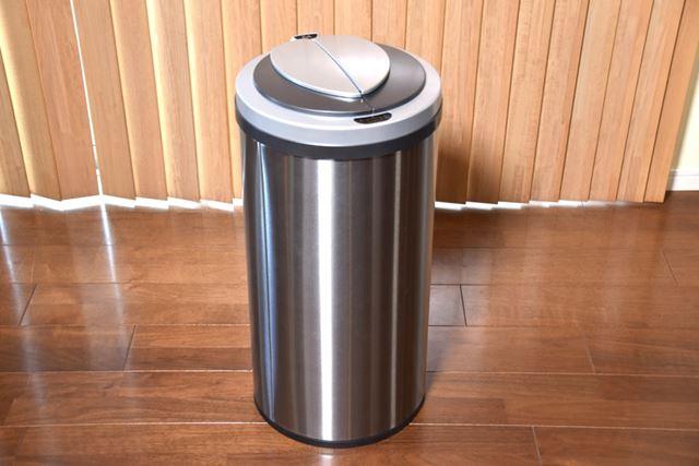 クラウドファンディング発の自動開閉ゴミ箱「ZitA」