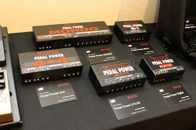 ギターエフェクターのパワーサプライ「Pedal Power 2 PLUS」。販売価格は2万円台を予定