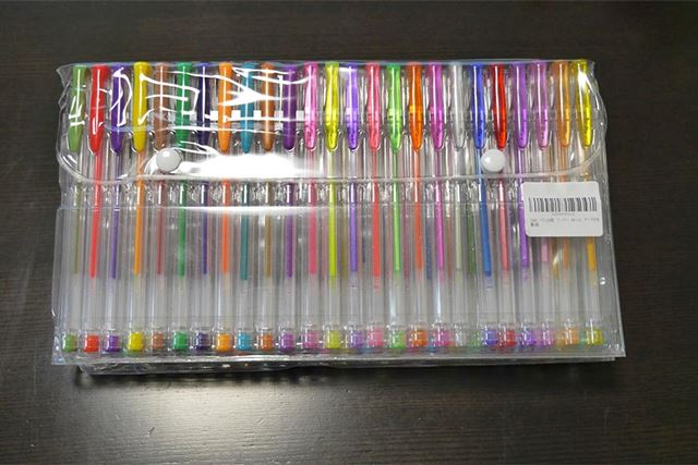 「100色ボールペン」!