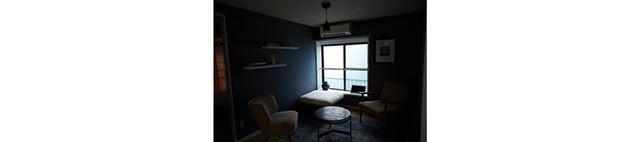 スタジオはこのとおり、暗〜い感じです。晴天であれば、もっと明るいはず……