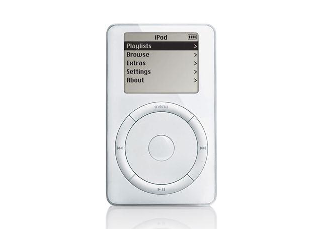 アップル初代「iPod」