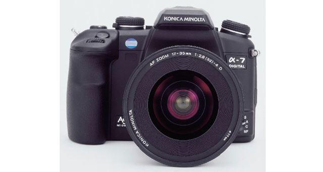 ミノルタ(コニカミノルタ)「α-7 DIGITAL」