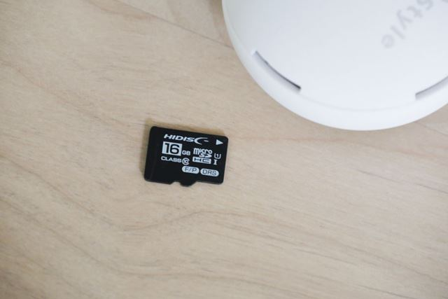 録画した映像は、microSDカード、および、スマートフォン本体に保存されます
