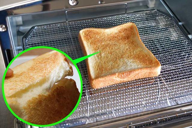 外カリッ! 中モチッ! たった1分半〜2分で極上のトーストを焼き上げてくれます