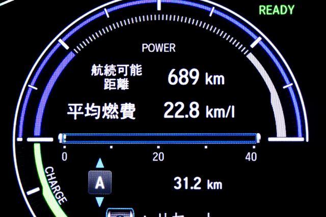 ホンダ 新型「インサイト」市街地における実燃費結果は「22.8km/L」