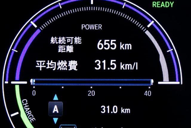 ホンダ 新型「インサイト」郊外路における実燃費結果は「31.5km/L」