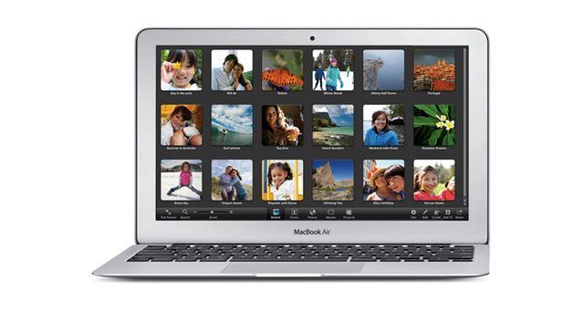アップルの「MacBook Air」(11インチモデル)