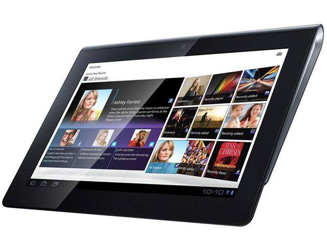 ソニー「Sony Tablet」。Androidタブレットの黎明期に生まれた製品だ