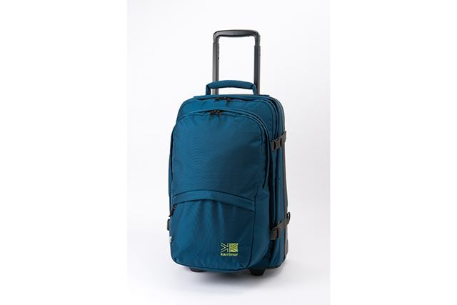 カリマー「エアポート プロ40」。国内1泊旅行などに最適な容量約40Lで、使い勝手のよさが魅力だ