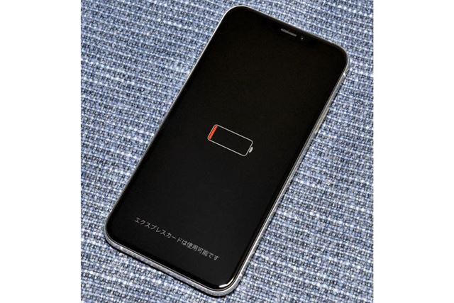 iPhone XS/XS Max/XRは、バッテリー切れでもSuicaを利用できる