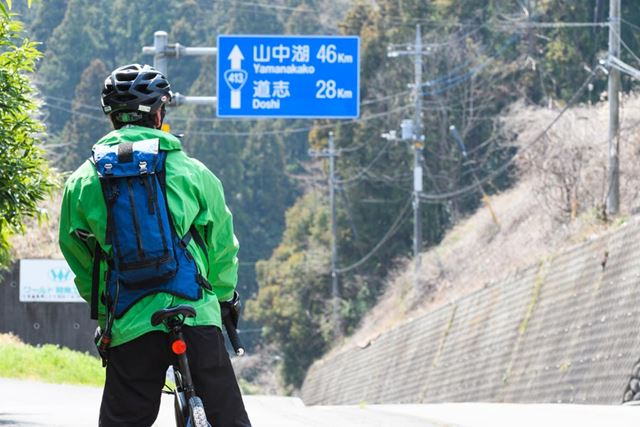 いよいよ道志みちに入る。けっこう走ったと思っていたが、ゴールより手前にある山中湖まででも約50kmある