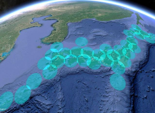 「HAWK30」を約40機使えば、日本全土をくまなくカバーできる計算だ
