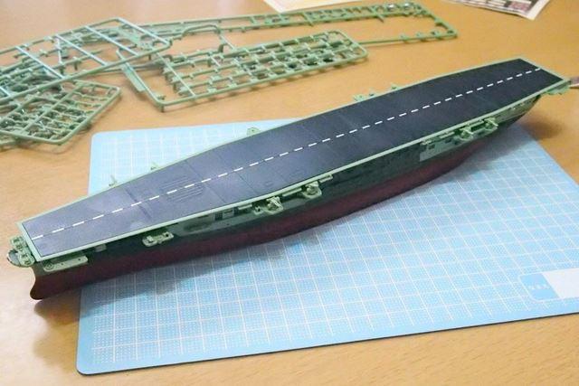 """ちなみに筆者は""""おかわり""""として艦NEXT「信濃」の建造を進めています"""