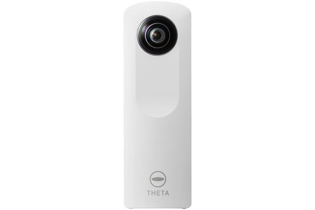 全天球カメラ(360°カメラ)という新ジャンルを切り開いて人気となった「RICOH THETA」