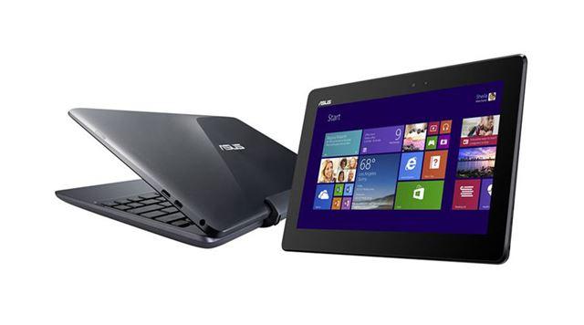 脱着型のキーボードを付属した2in1タイプのタブレット、ASUS「TransBook T100TA」