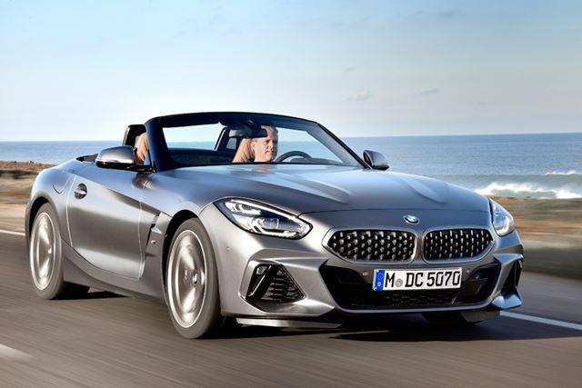 BMW 新型「Z4」は、BMWらしい安定感のある走りが特徴的だ
