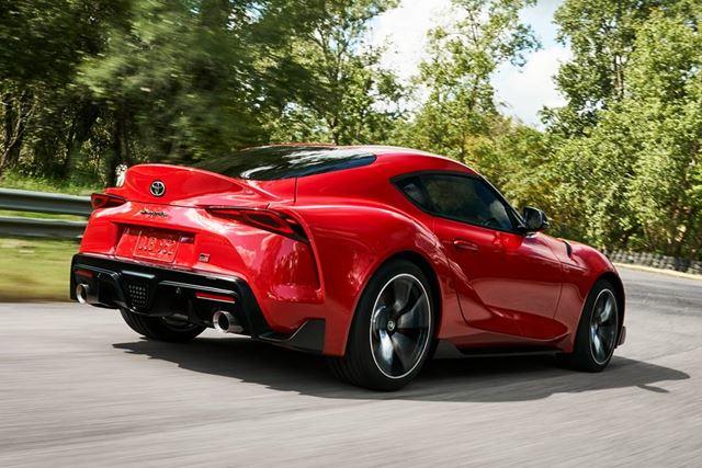 トヨタ 新型「スープラ」は、機敏に曲がるコーナーリングが特徴のひとつだ