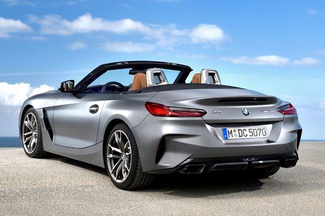 BMW 新型「Z4」には、全グレードにオープンボディが採用されている