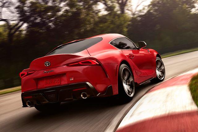 BMW 新型Z4と異なり、クローズドボディを採用するトヨタ 新型「スープラ」