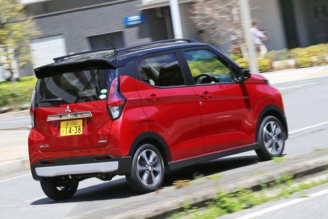 三菱 新型「eKクロス」(NA、4WD)の試乗イメージ