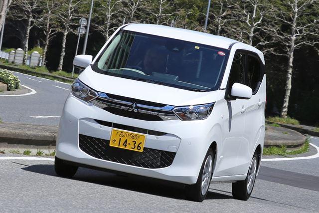 三菱 新型「eKワゴン」(NA、FF)の試乗イメージ