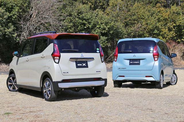 三菱 新型「eKクロス」「eKワゴン」の外観イメージ