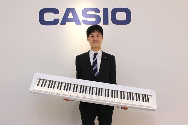 PX-S1000の開発に携わった、カシオ計算機 事業戦略本部 楽器BU 第二商品企画室 池田晃氏