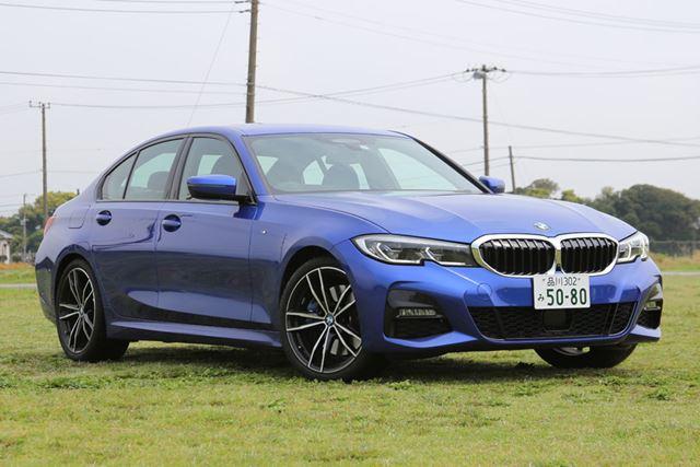BMW 新型「3シリーズ」(330i M Sport)のフロントイメージ