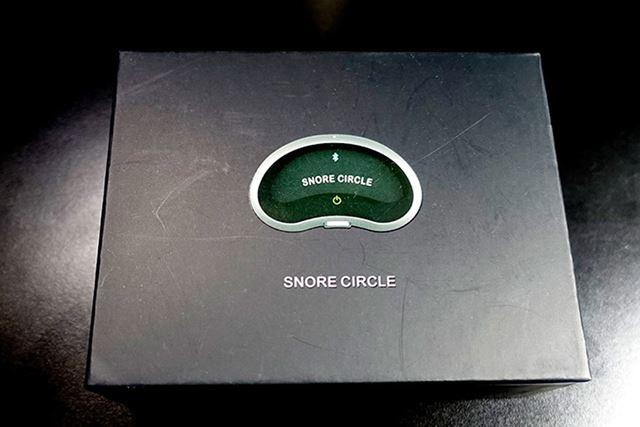 いびき防止デバイス「スノアサークル EMS Pad いびきストッパー」