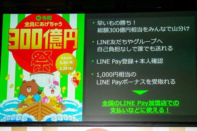 300億円祭の詳細