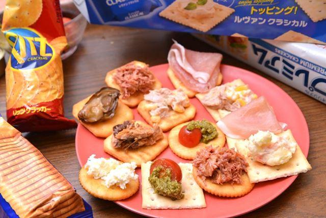 どの商品もいろいろな食材と合わせて、オシャレにおいしく食べられます!