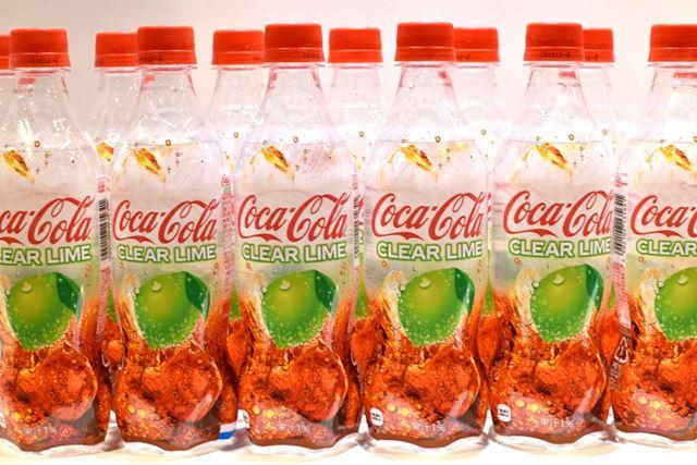「コカ・コーラ クリアライム」