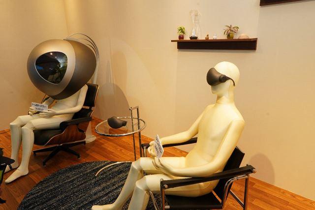 ドーム型ディスプレイやヘッドマウントディスプレイ(HMD)による視聴を想定