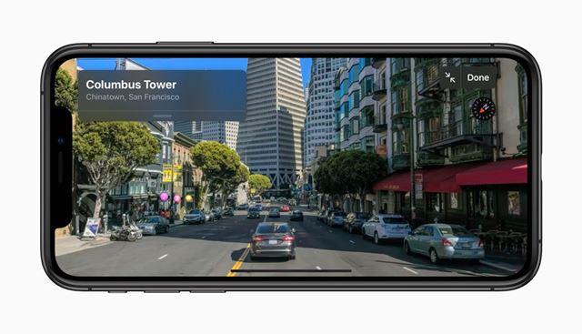 ルックアラウンドはアップル版のGoogleストリートビュー