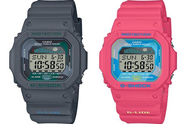 左が「GLX-5600VH-1JF」で、右が「GLX-5600VH-4JF」。各12,500円