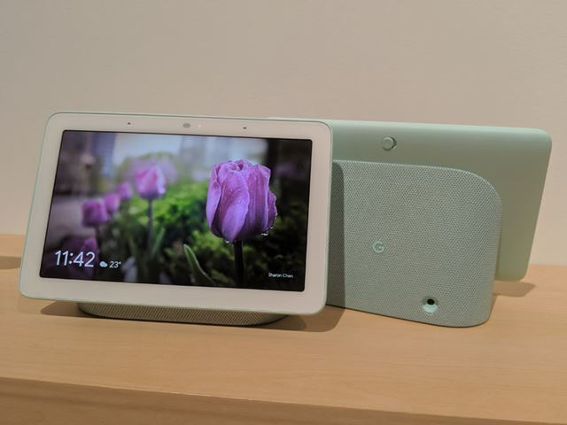 スマートスピーカーとディスプレイを融合させた「Google Nest Hub」