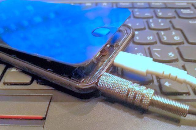 iPodのバッテリー膨張
