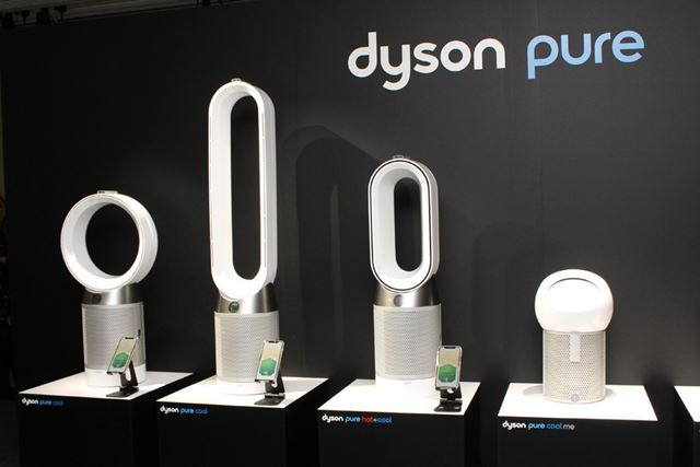 ダイソン「Pure Cool」シリーズは、扇風機+空気清浄機の2in1構造が特徴