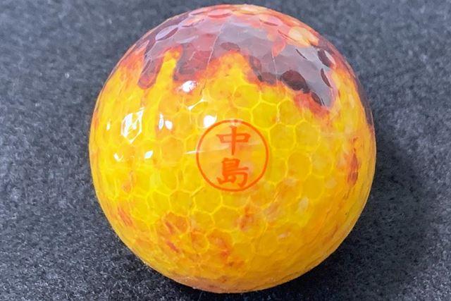ゴルフボール(注:たこやきではありません♪)のような凸凹面でも使えました
