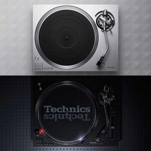 ほぼ同時に発売となった「SL-1500C」(写真上)と「SL-1200MK7」(写真下)