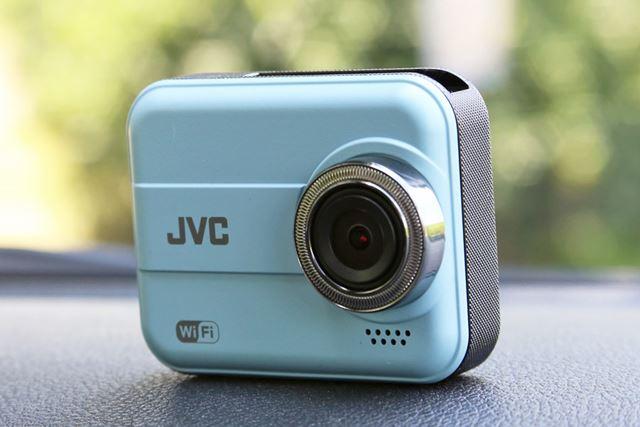 「GC-DR20」の外観は、まるでコンパクトデジタルカメラのようにスタイリッシュです