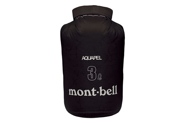 防水性の高い素材を使用した収納用バッグ。持っておくだけで用途は幅広い