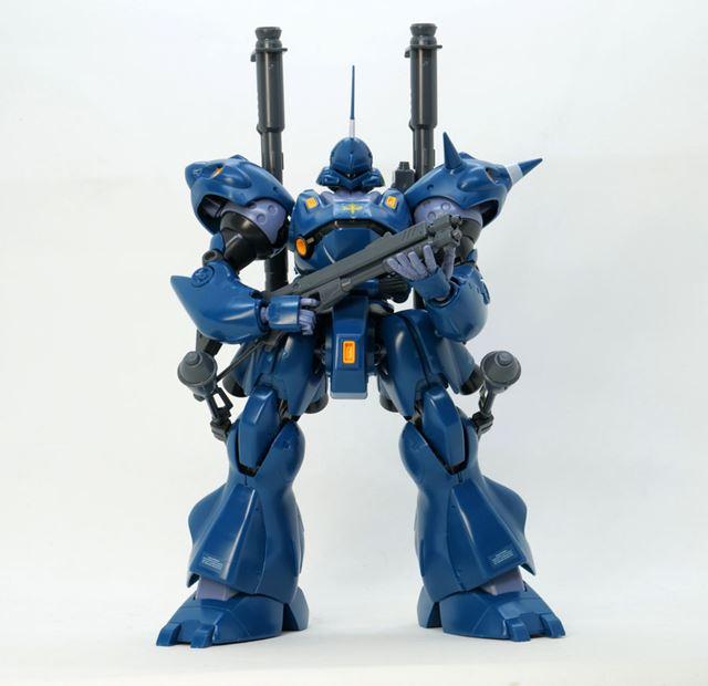 完成したMG 1/100 ケンプファー